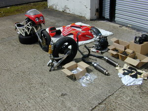 Ducati 900 Superlight Ltd Edition No 265 - Project