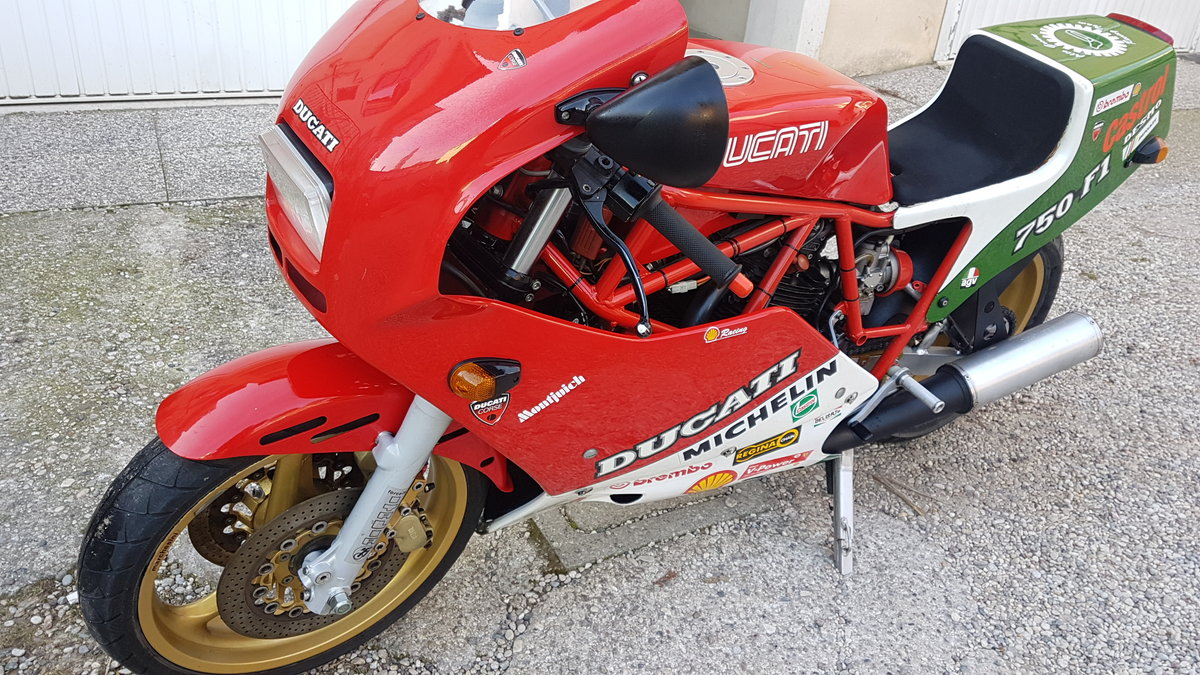 1986 Moto Ducati F1 750 SOLD (picture 5 of 6)