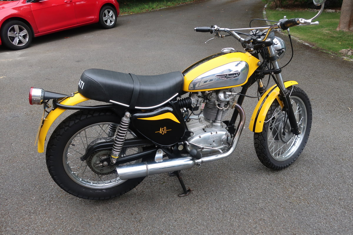 1973 Ducati 450 Scrambler For Sale (picture 1 of 6)