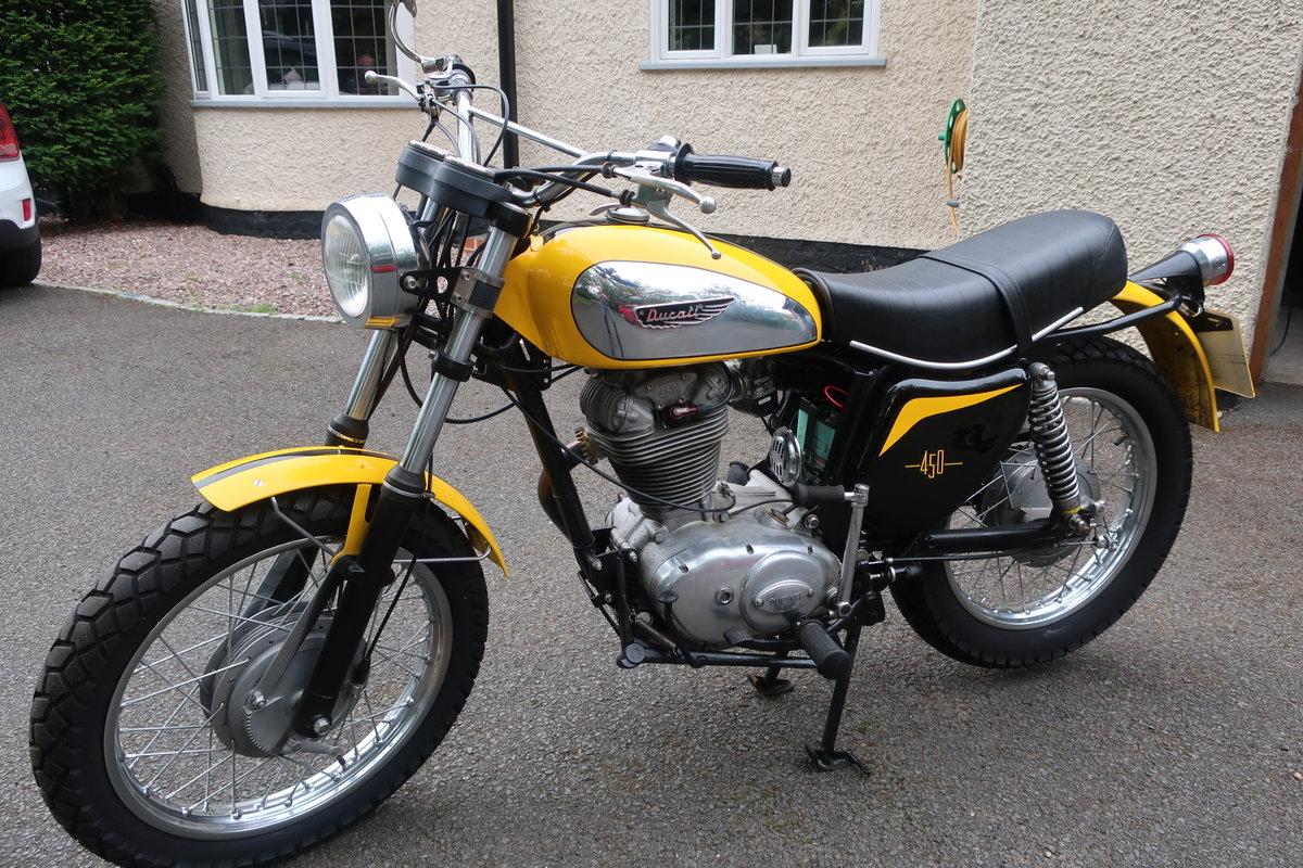1973 Ducati 450 Scrambler For Sale (picture 3 of 6)
