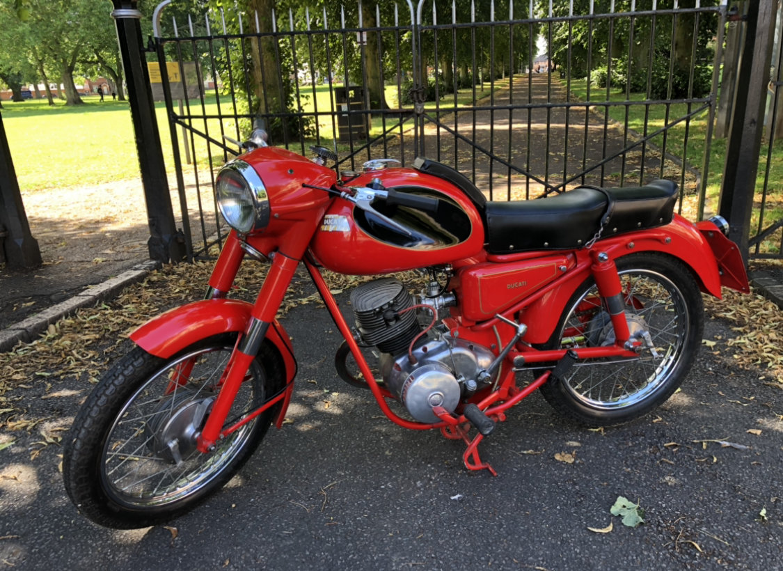 1956 Ducati 125 TV SOLD (picture 4 of 6)