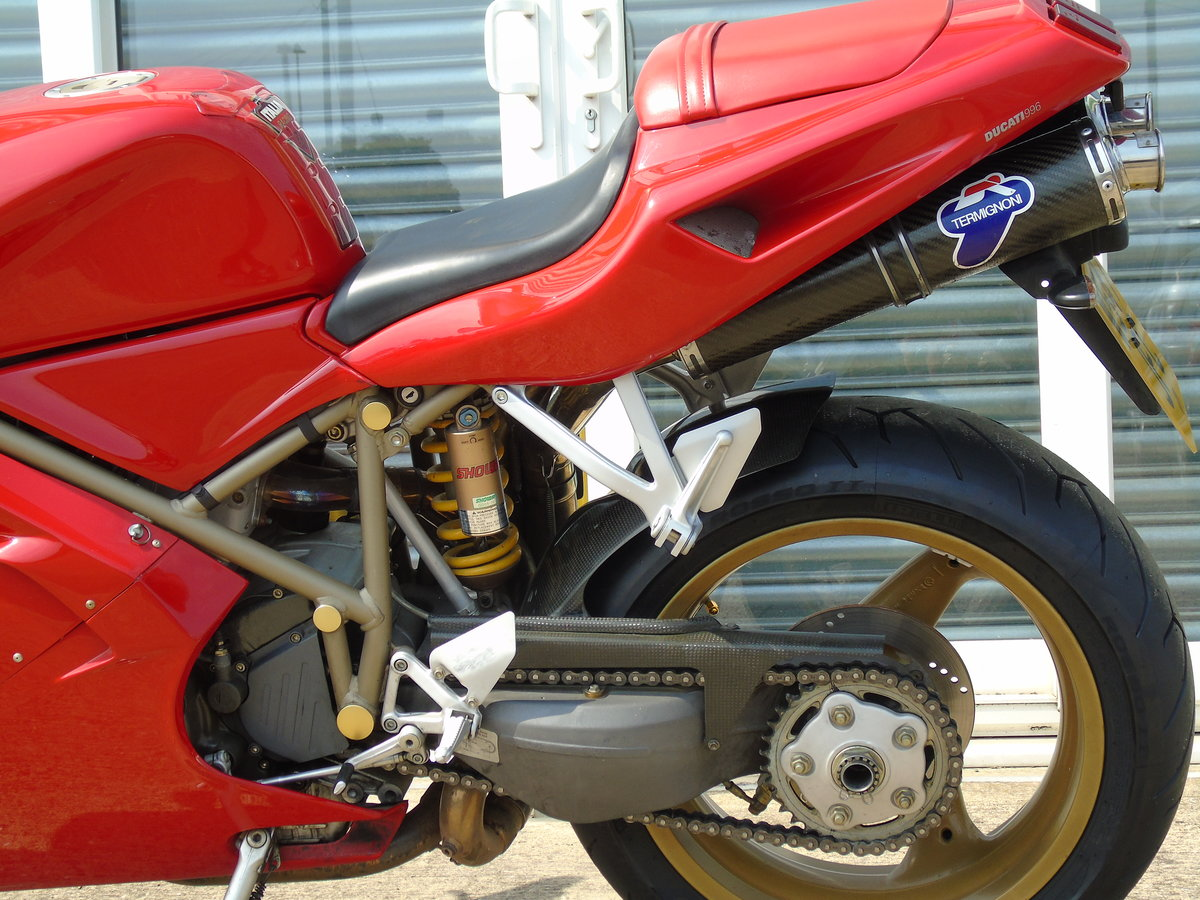 2000 Ducati 996 996cc Biposto Only 8,000 Miles Service History For Sale (picture 6 of 6)