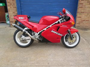 Picture of Lot 242 - 1991 Ducati 851 - 27/08/2020 SOLD by Auction