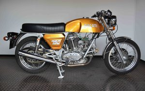 1971 Ducati 750 GT preproduction frame number DM 750 7500XX