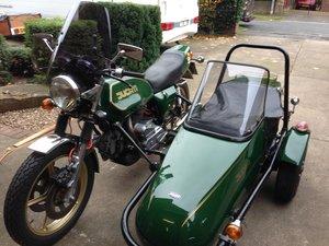 DUCATI Dahma & Squire Sidecar - Classic