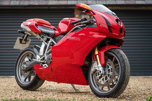 2003 Ducati 999s only 2460 miles!