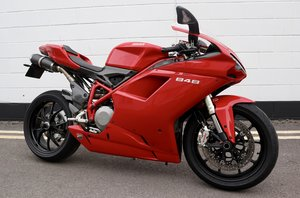 2010  Ducati 848 - In Fabulous Condition - With Only 7938 Mil