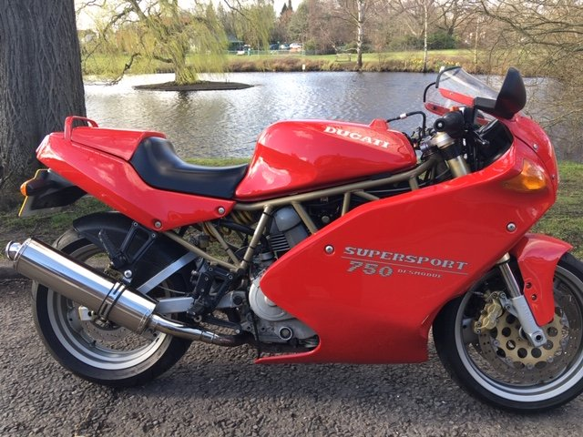 1995 Ducati 750SS For Sale (picture 1 of 6)