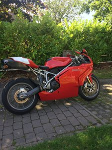 Ducati 749S Monoposto and performance parts.