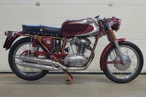 Older restoration, original UK supplied bike.