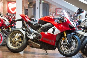 Picture of 2020 Ducati V4 25th Anniversario 916 Foggy, 373/500.  For Sale