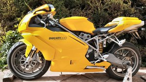 Picture of 2002 Ducati 999, yellow, 14k miles, 2 prev owners