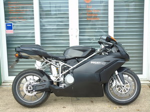 Ducati 749 Dark Full Service History, Only 15,000 Miles