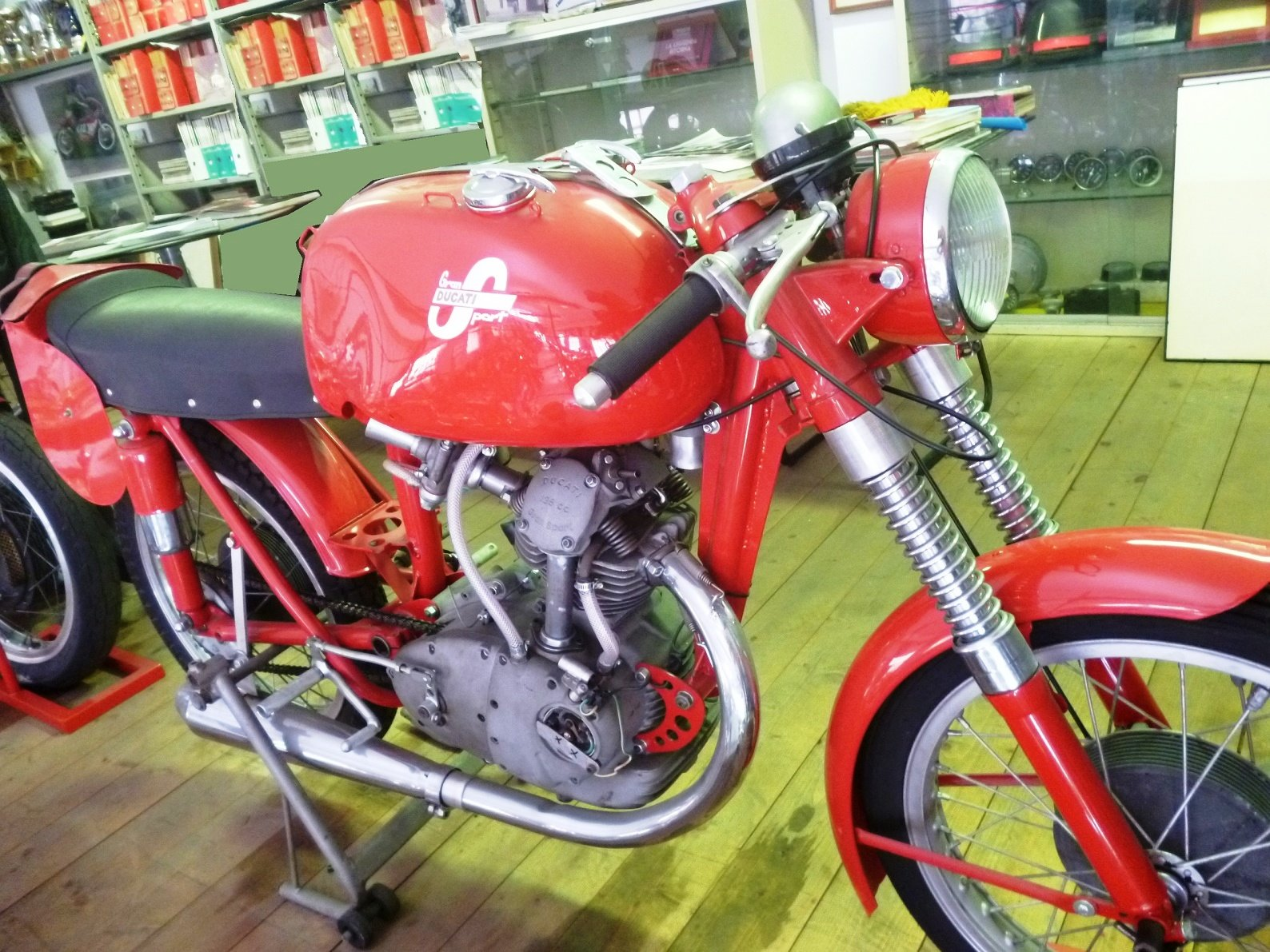 1955 Ducati 125 Gran Sport Marianna For Sale (picture 1 of 6)