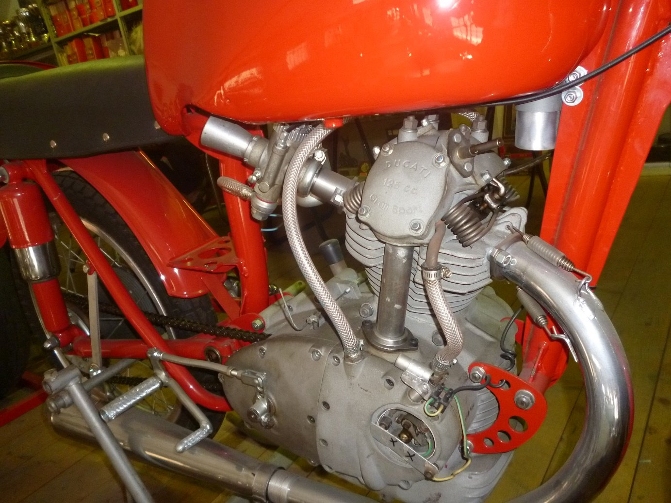 1955 Ducati 125 Gran Sport Marianna For Sale (picture 4 of 6)