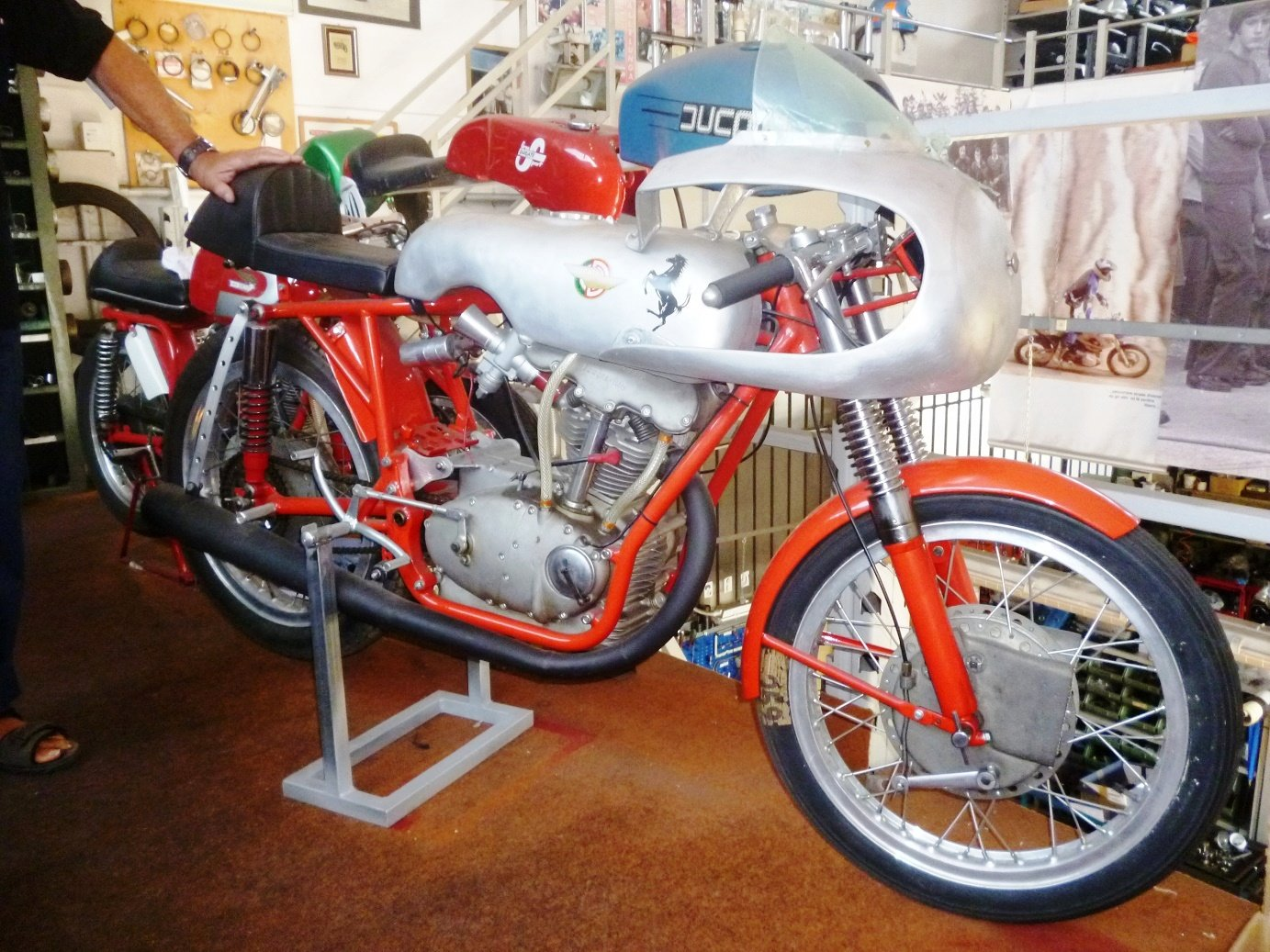 1956 Ducati 125 Gran Prix For Sale (picture 1 of 6)