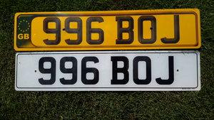 Dateless Registration Number Plate