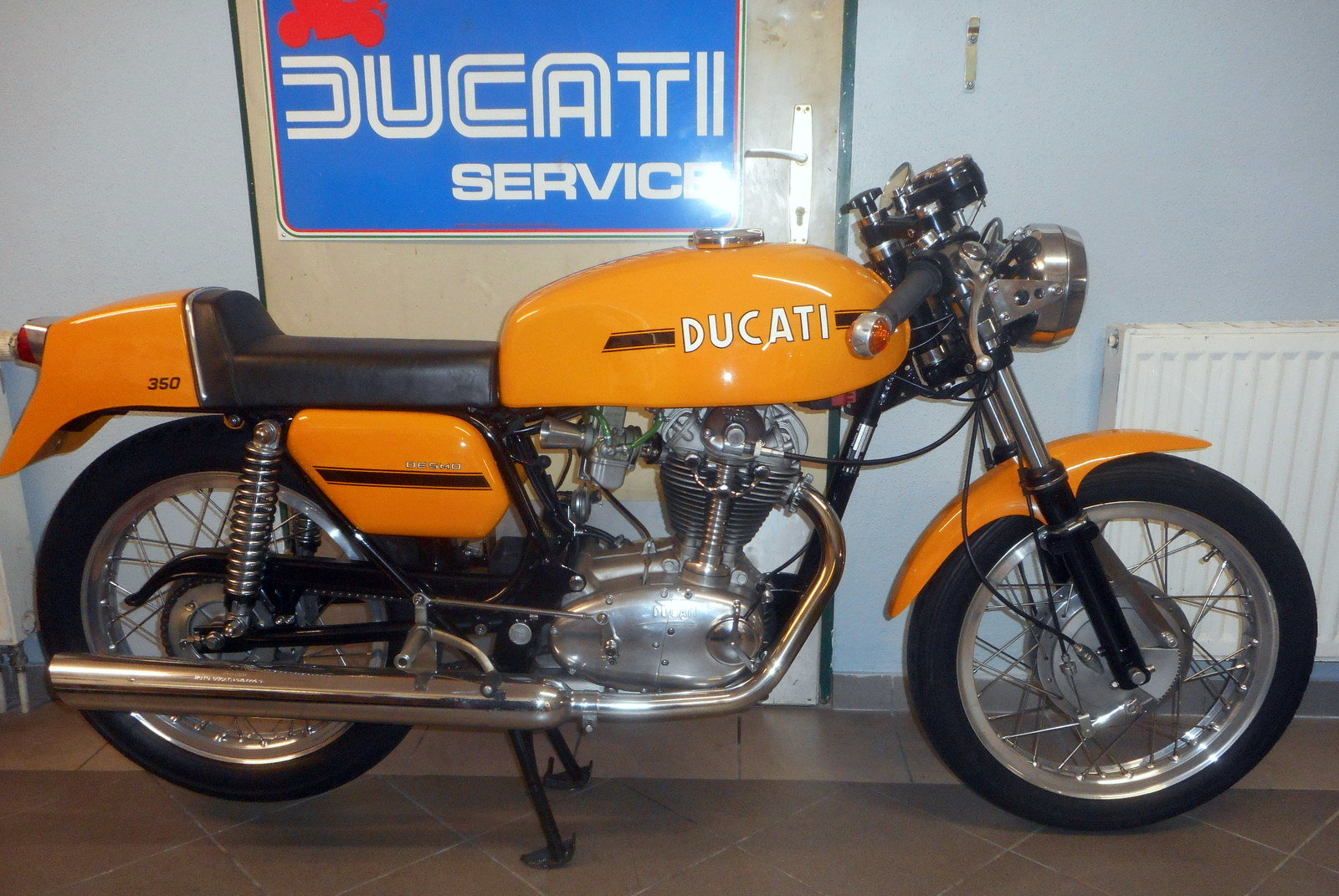 1974 Ducati 350 Desmo SOLD (picture 1 of 2)