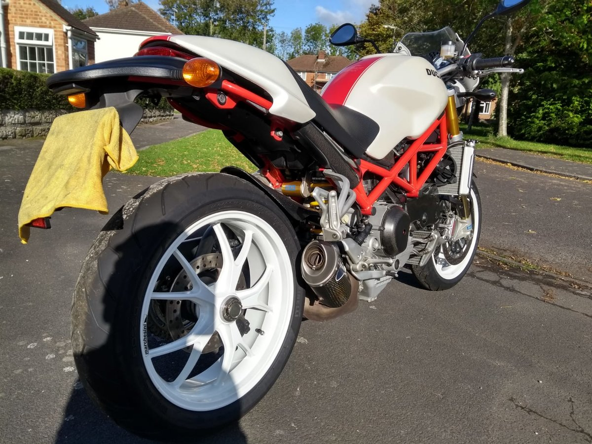 2008 Ducati Monster S4RS, 6k Miles, Brilliant Condition For Sale (picture 2 of 6)