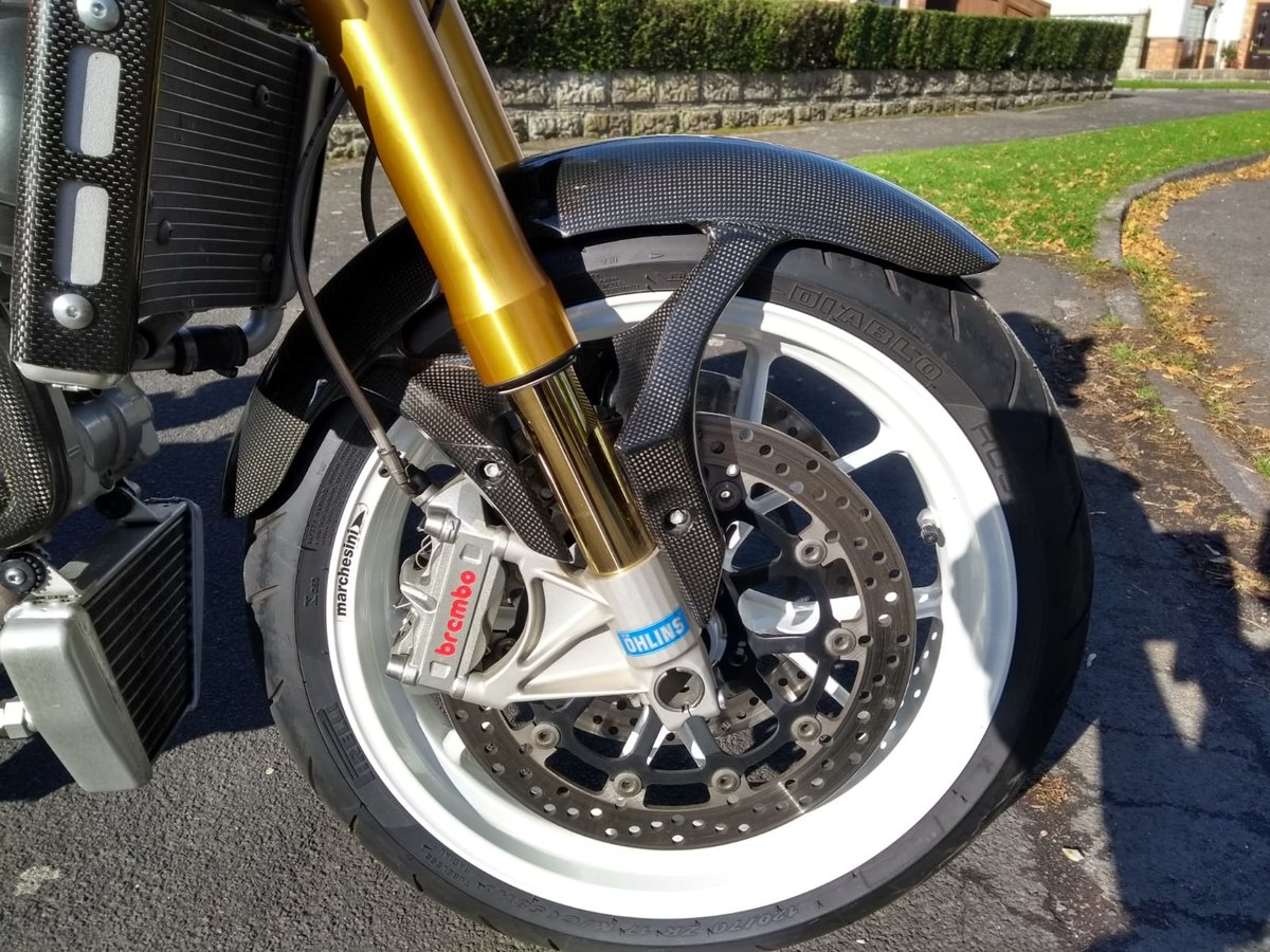 2008 Ducati Monster S4RS, 6k Miles, Brilliant Condition For Sale (picture 4 of 6)
