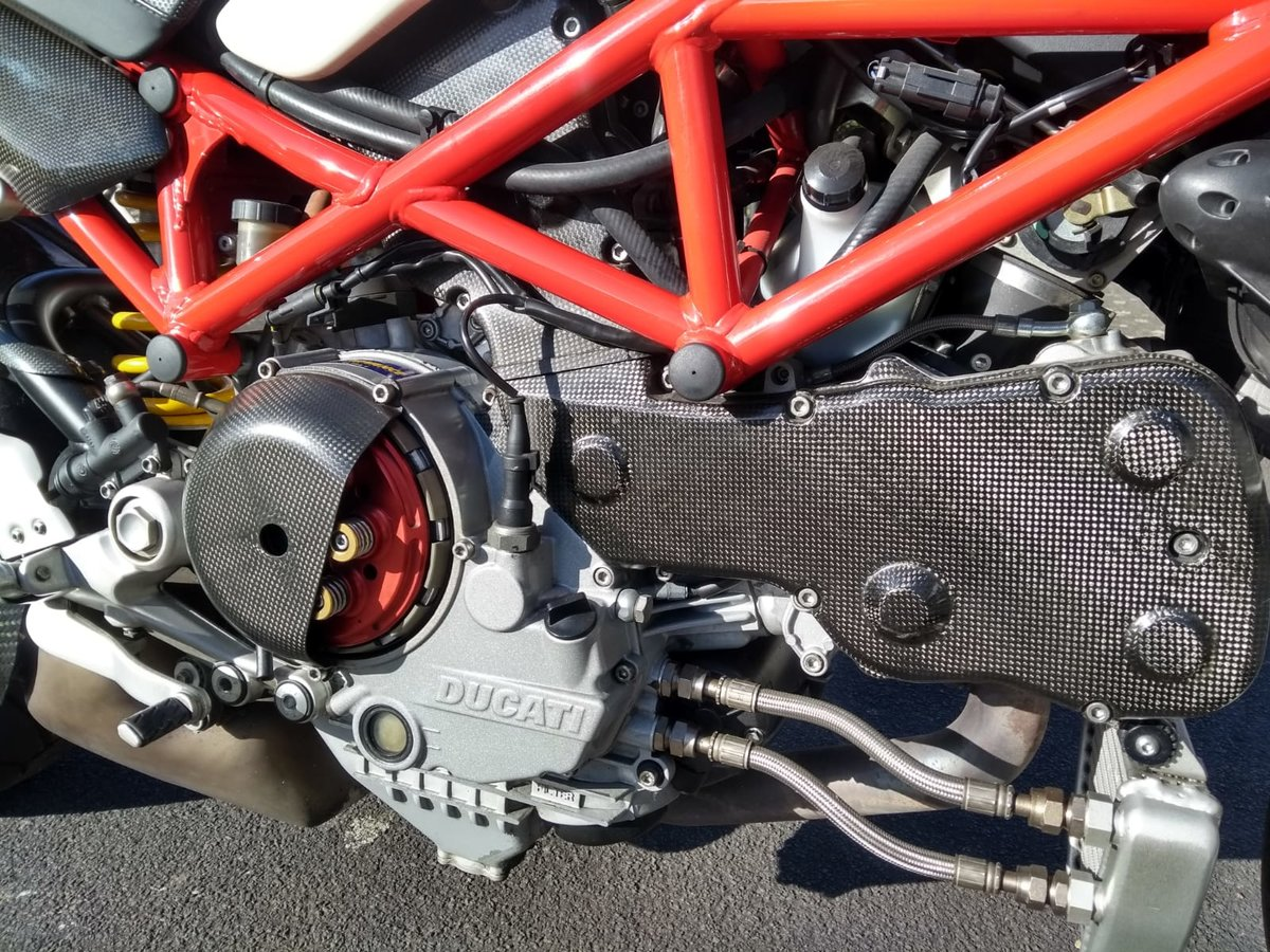 2008 Ducati Monster S4RS, 6k Miles, Brilliant Condition For Sale (picture 5 of 6)