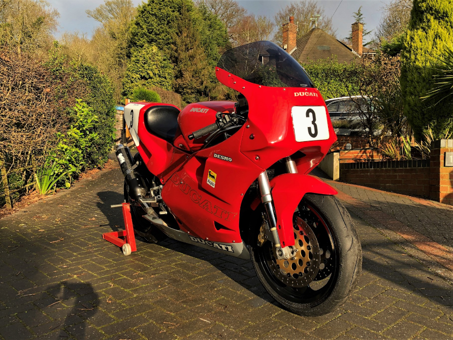 """1991 DUCATI  """"3D CUP"""" Racing Bike  For Sale (picture 1 of 6)"""