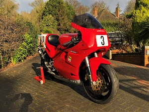 """Picture of 1991 DUCATI  """"3D CUP"""" Racing Bike"""