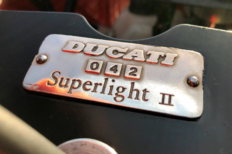 """1991 DUCATI  """"3D CUP"""" Racing Bike  For Sale (picture 3 of 6)"""