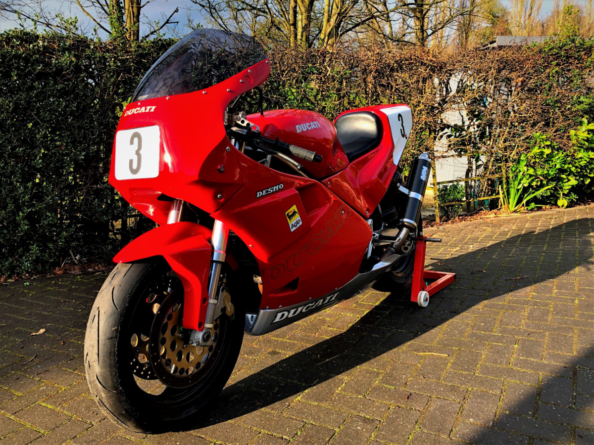 """1991 DUCATI  """"3D CUP"""" Racing Bike  For Sale (picture 6 of 6)"""