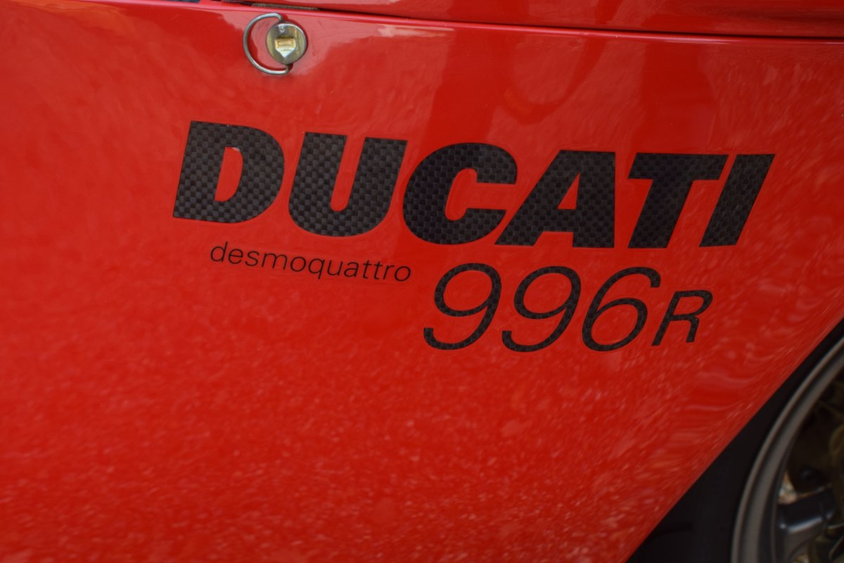 Ducati 996 R (UK bike, 1 of 350 customer bikes) 2001 51 Reg SOLD (picture 4 of 12)