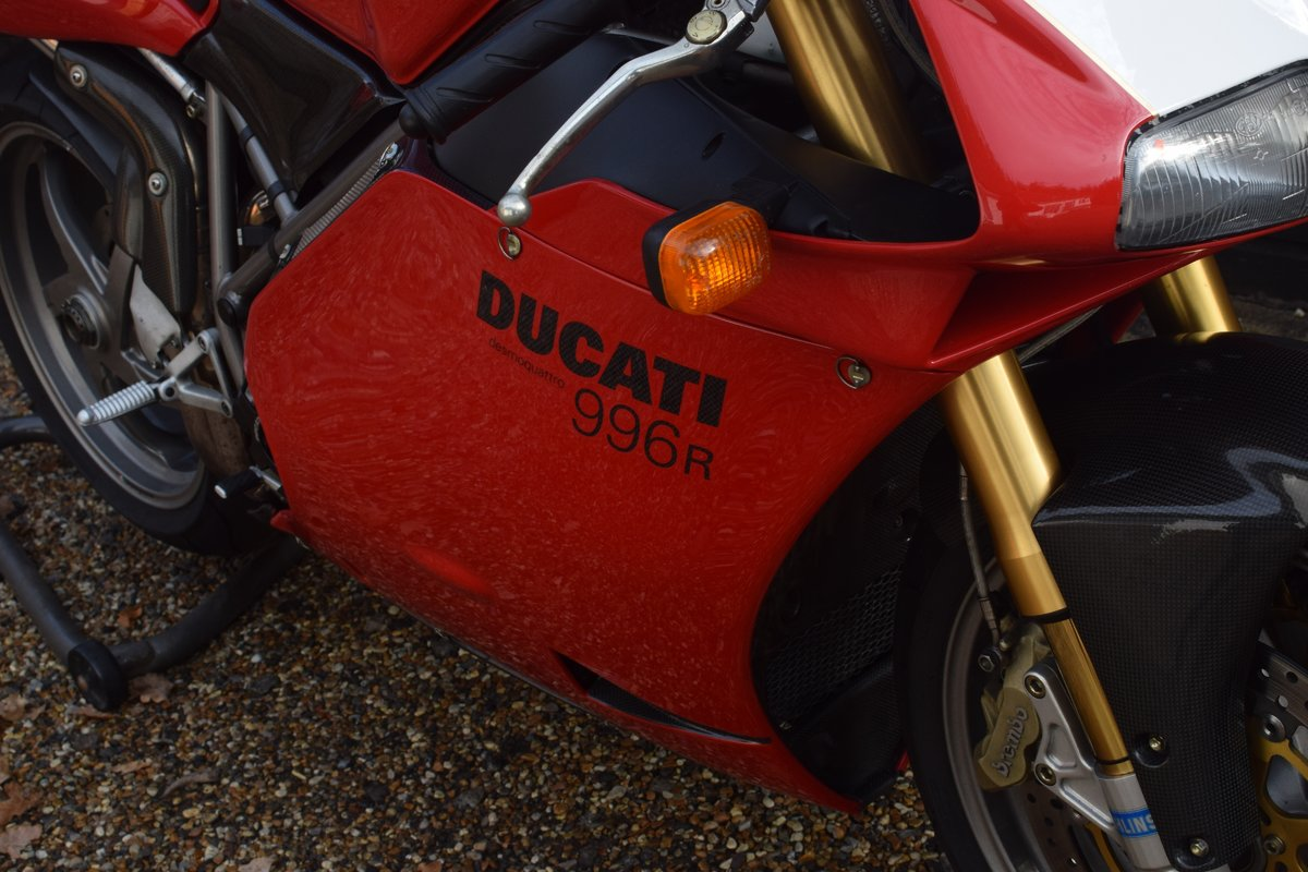 Ducati 996 R (UK bike, 1 of 350 customer bikes) 2001 51 Reg SOLD (picture 6 of 12)