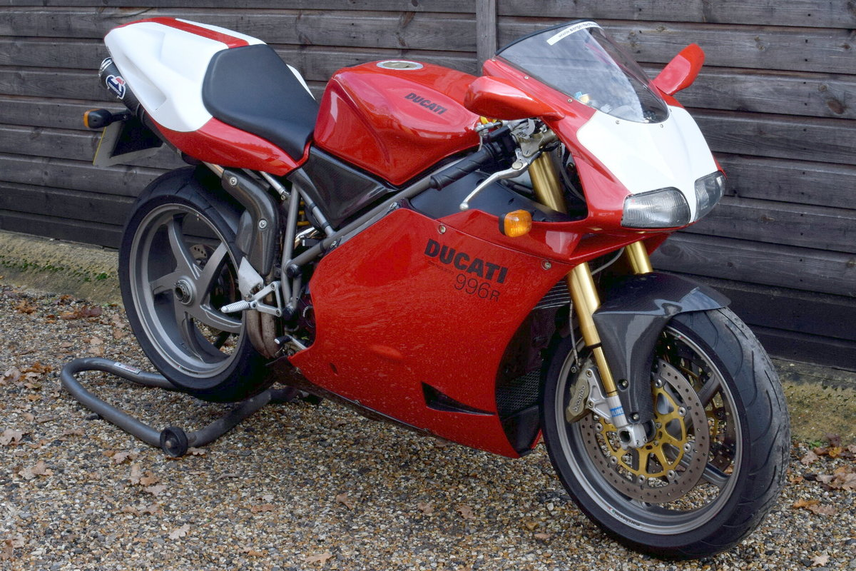 Ducati 996 R (UK bike, 1 of 350 customer bikes) 2001 51 Reg SOLD (picture 1 of 12)