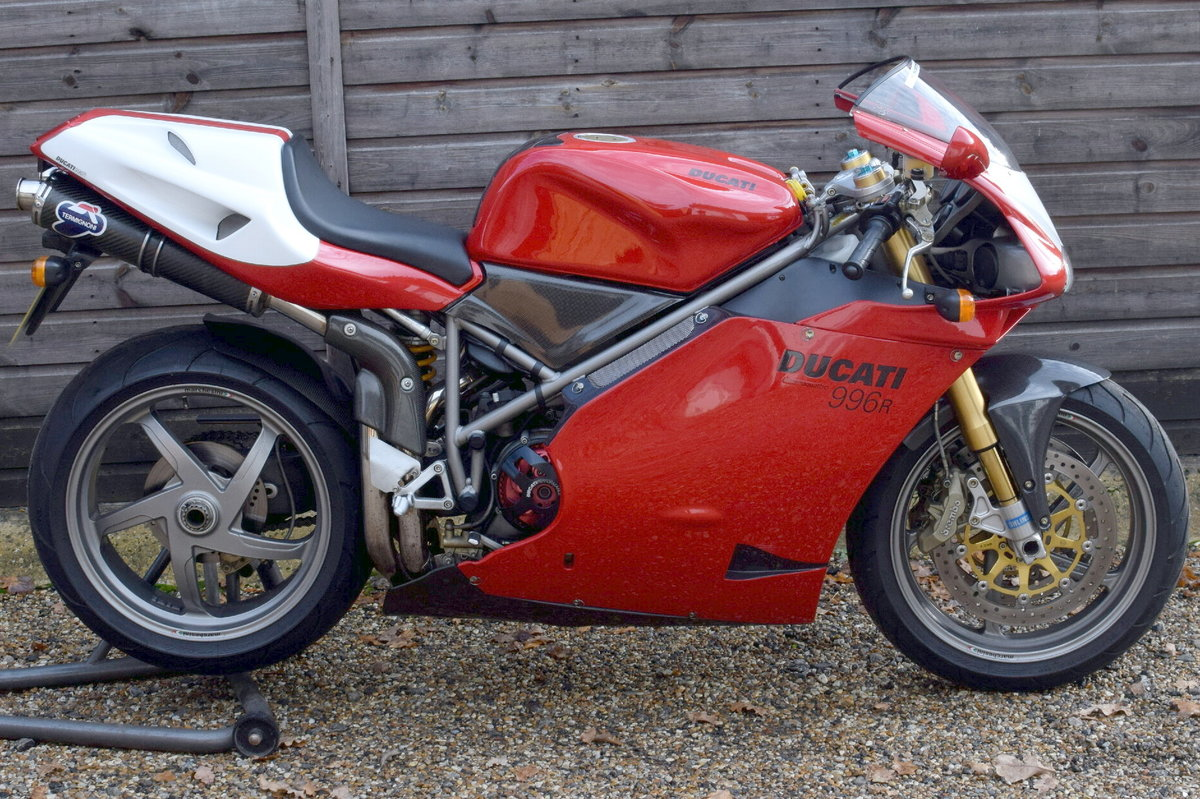 Ducati 996 R (UK bike, 1 of 350 customer bikes) 2001 51 Reg SOLD (picture 2 of 12)
