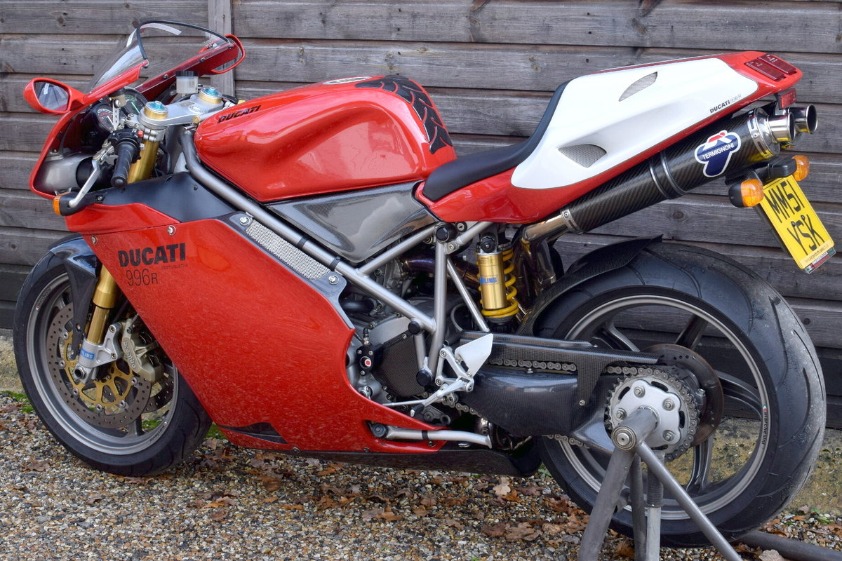 Ducati 996 R (UK bike, 1 of 350 customer bikes) 2001 51 Reg SOLD (picture 3 of 12)