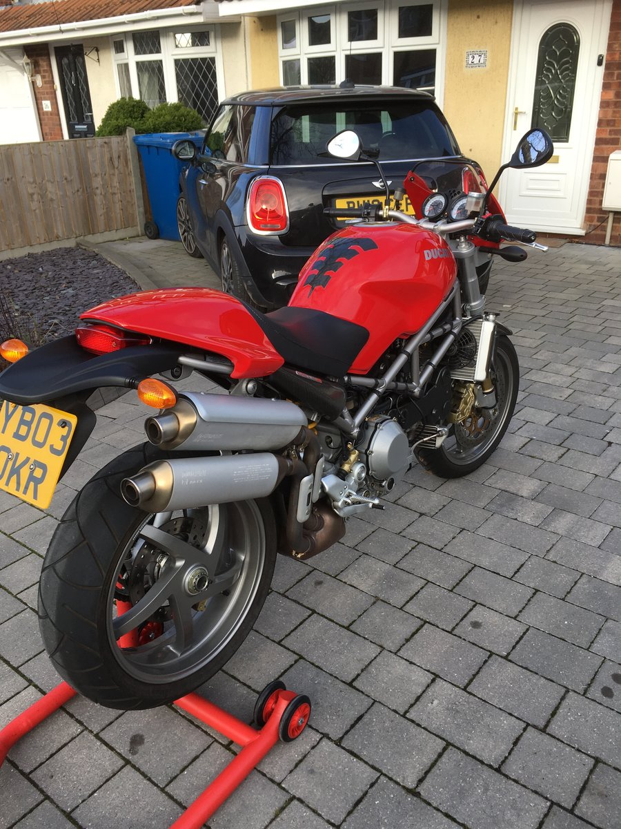 2003 Ducati Monster S4R SOLD (picture 1 of 6)
