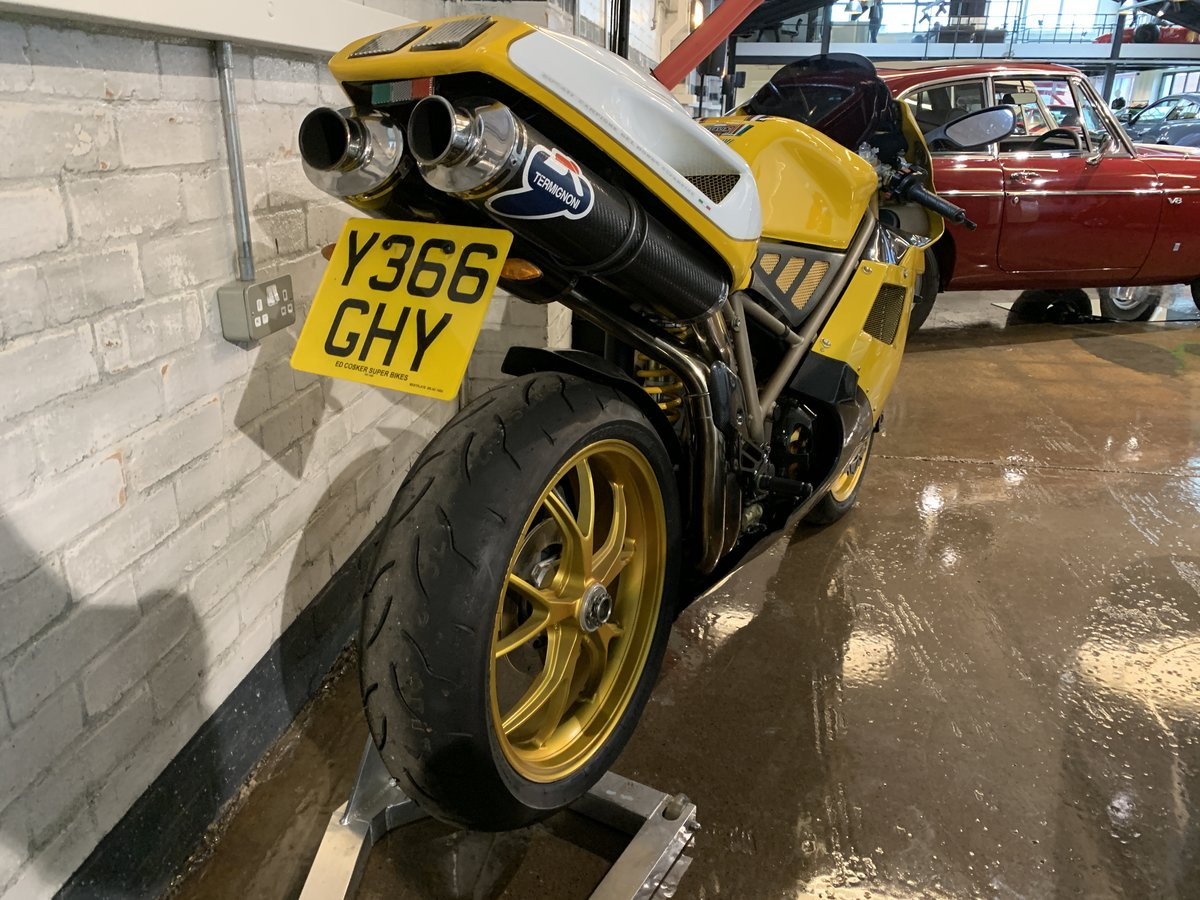 2001 Ducati 748B - low mileage For Sale (picture 4 of 10)