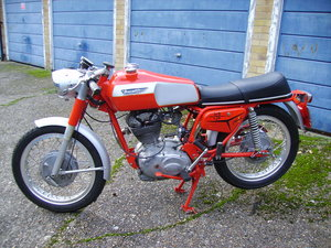 Ducati 250 Mark 3 Twin Filler