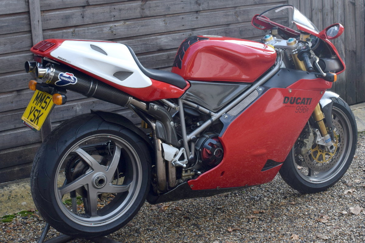 Ducati 996 R (UK bike, 1 of 350 customer bikes) 2001 51 Reg SOLD (picture 7 of 12)