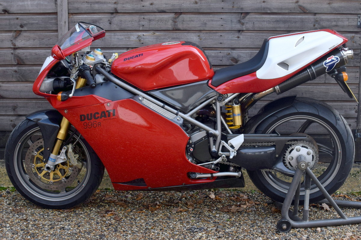 Ducati 996 R (UK bike, 1 of 350 customer bikes) 2001 51 Reg SOLD (picture 9 of 12)