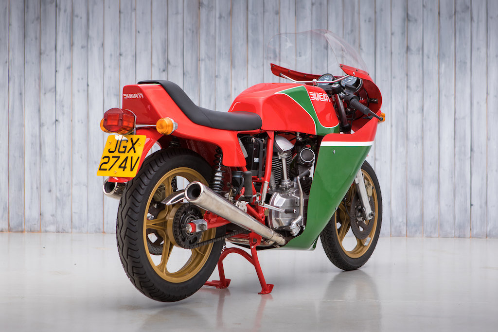 1979 The 17th Produced Ducati 900 SS Mike Hailwood For Sale (picture 5 of 10)