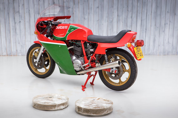 1979 The 17th Produced Ducati 900 SS Mike Hailwood For Sale (picture 10 of 10)