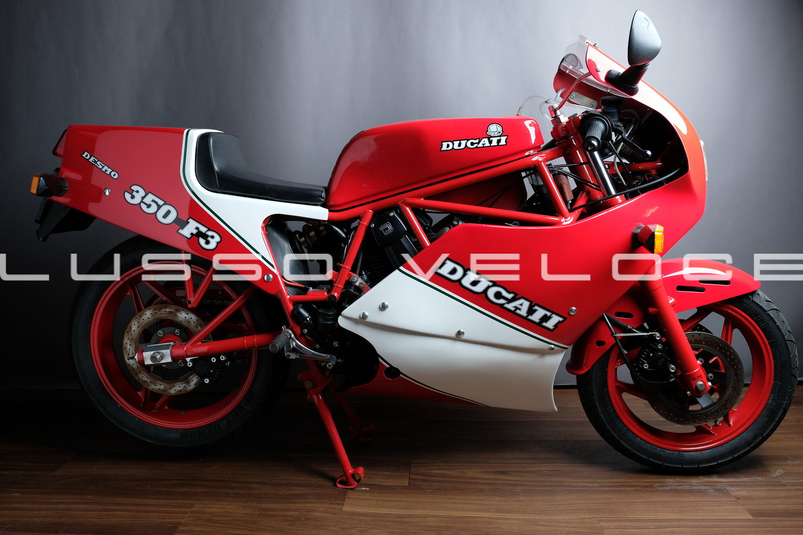 1986 Rare Ducati F3 350 fully restored For Sale (picture 1 of 15)