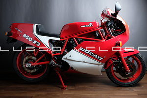Rare Ducati F3 350 fully restored