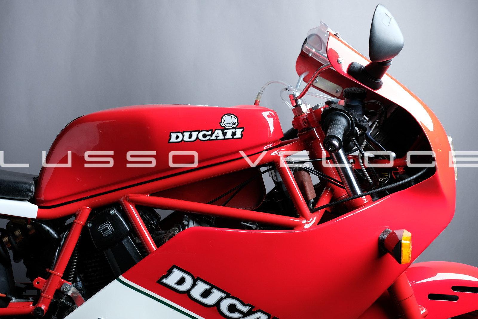 1986 Rare Ducati F3 350 fully restored For Sale (picture 2 of 15)