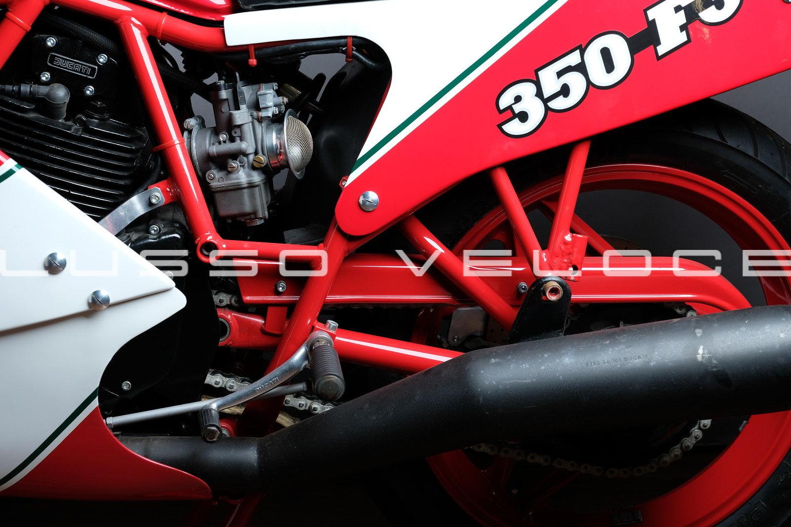 1986 Rare Ducati F3 350 fully restored For Sale (picture 14 of 15)
