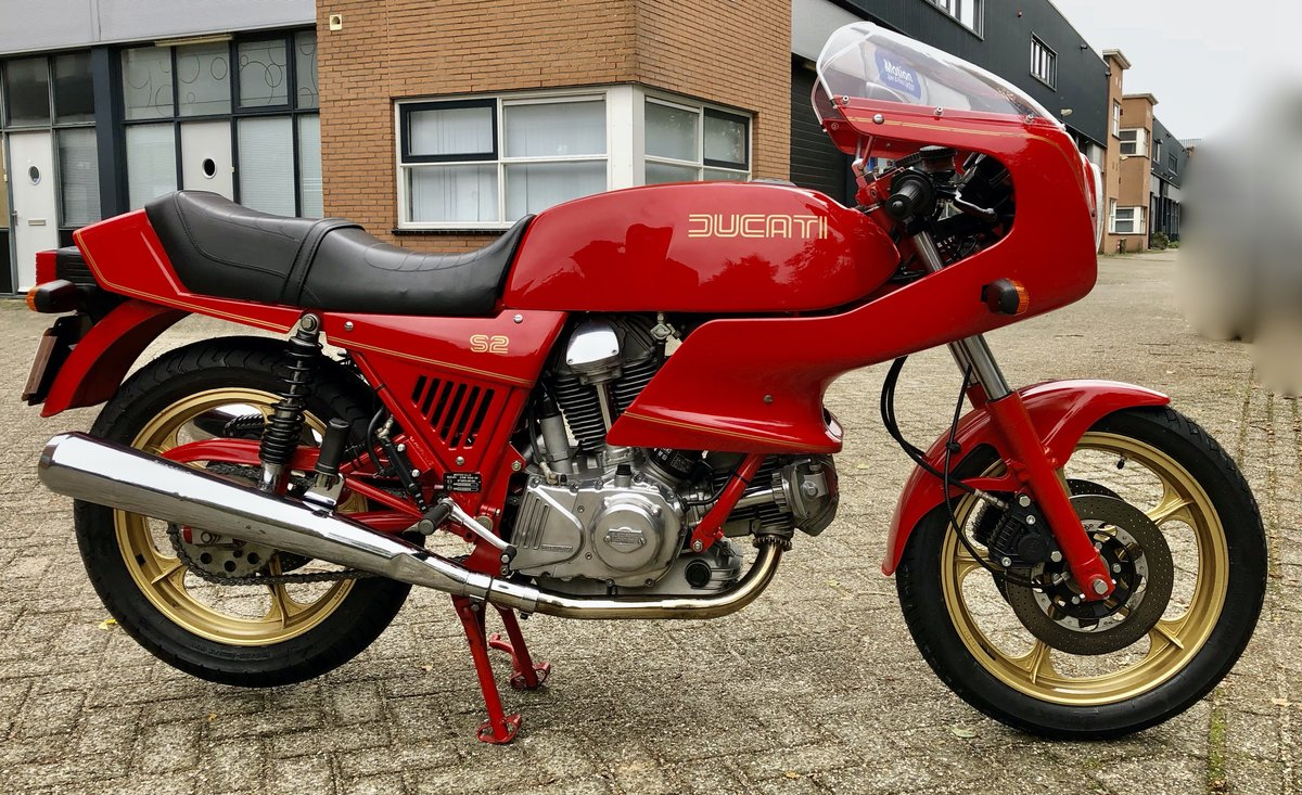 1985 Ducati S2 Mille - excellent condition, low mileage #105 For Sale (picture 1 of 8)