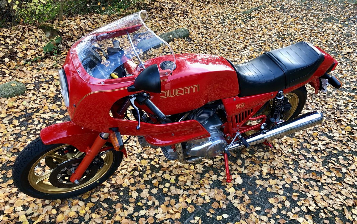 1985 Ducati S2 Mille - excellent condition, low mileage #105 For Sale (picture 4 of 8)