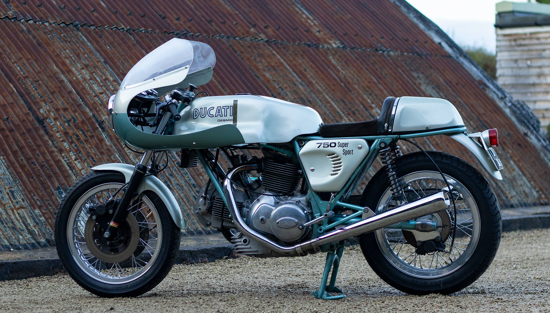 1974 Ducati 750 SS 'Green Frame' - Genuine with Falloon Report For Sale (picture 1 of 17)