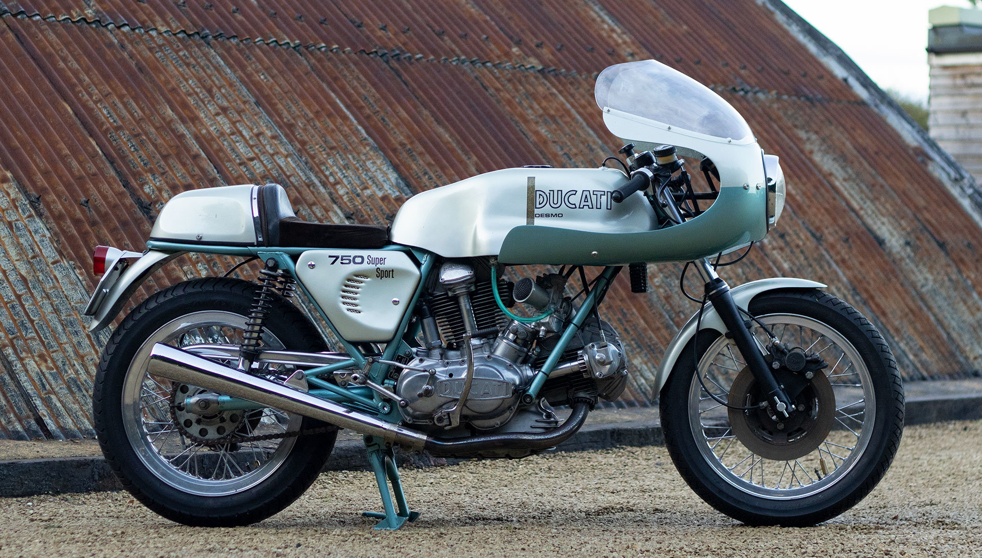 1974 Ducati 750 SS 'Green Frame' - Genuine with Falloon Report For Sale (picture 4 of 17)