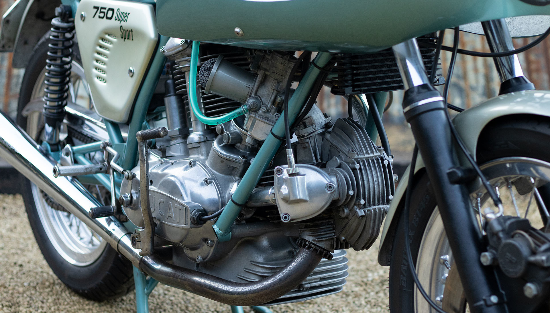 1974 Ducati 750 SS 'Green Frame' - Genuine with Falloon Report For Sale (picture 7 of 17)